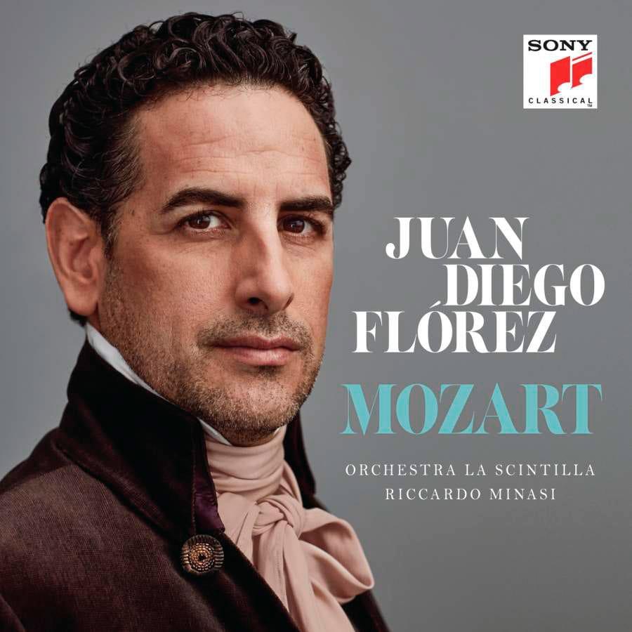Juan Diego Flórez.Mozart. Orchestra La Scintilla, Riccardo Minasi.Sony