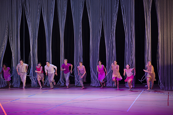 На фестиваль «Черешневый лес» приедет балетная труппа Анны Терезы де Кеерсмакер