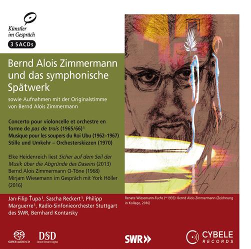 Бернд Алоиc Циммерман Поздние сочинения ибеседы  Cybele Records CD