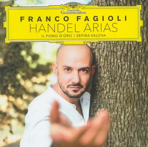 Franco Fagioli Handel Arias Deutsche Grammophon CD