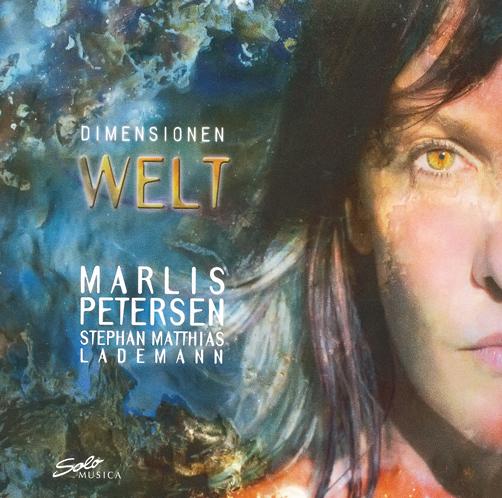 Marlis Petersen Dimensionen: Welt Solo Musica CD