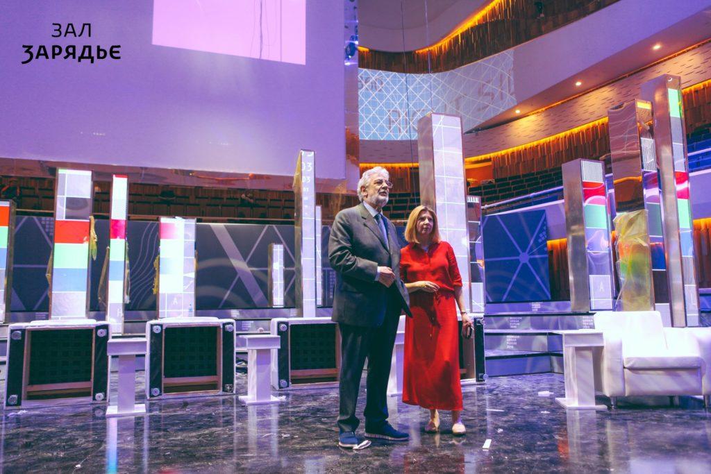 Пласидо Доминго оценил акустику зала «Зарядье»