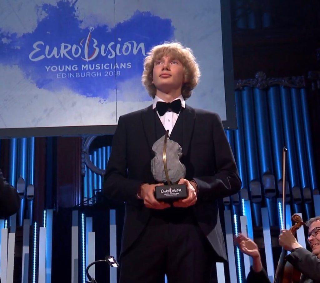 Иван Бессонов выиграл юношеское «Евровидение» в Эдинбурге