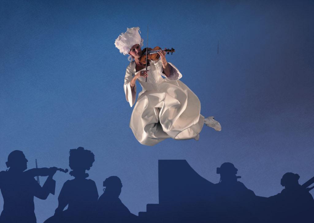 Итальянская труппа No Gravity покажет спектакль «Aria» на фестивале искусств «Вдохновение»