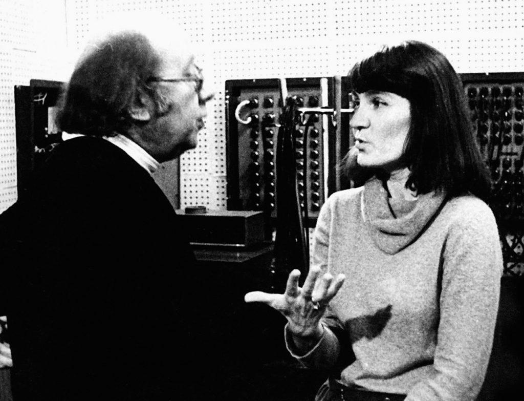 Геннадий Рождественский и Татьяна Аскоченская, 1982