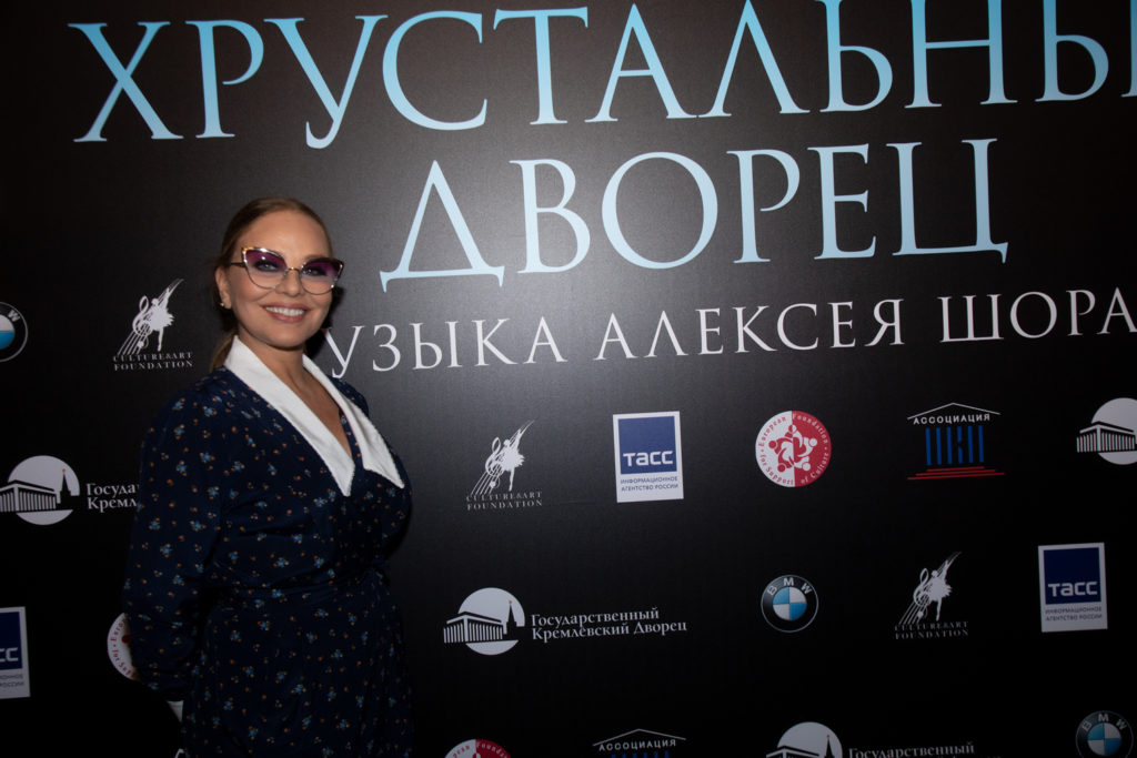 Орнелла Мути сыграет русскую императрицу в балете «Хрустальный дворец»