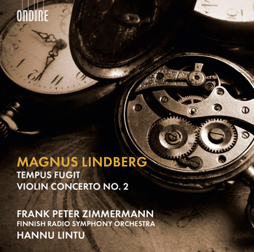 Магнус Линдберг Скрипичный концерт №2, Tempus Fugit Ondine CD