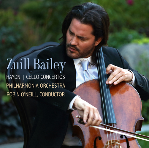 ZUILL BAILEY <br>HAYDN / CELLO CONCERTOS <br>PHILHARMONIA ORCHESTRA ROBIN O'NEILL, CONDUCTOR <br>STEINWAY & SONS 30094/2018 <br>CD
