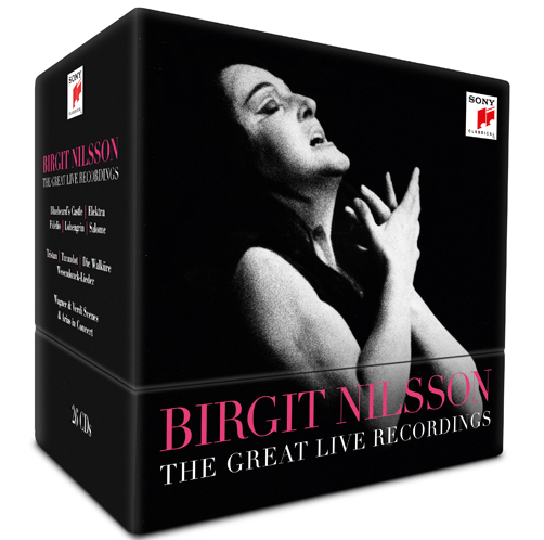Birgit Nilsson <br>The Great Live Recordings <br>Sony Classical <br>2018 <br>CD
