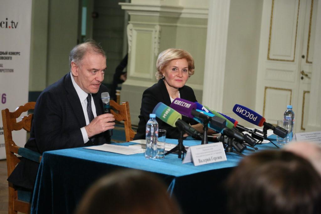 В Санкт-Петербурге состоялась пресс-конференция, посвященная XVI Международному конкурсу имени П.И. Чайковского