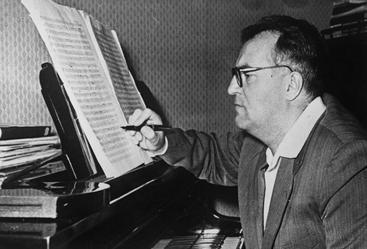На «Мелодии» вышел диск с музыкой Георгия Свиридова