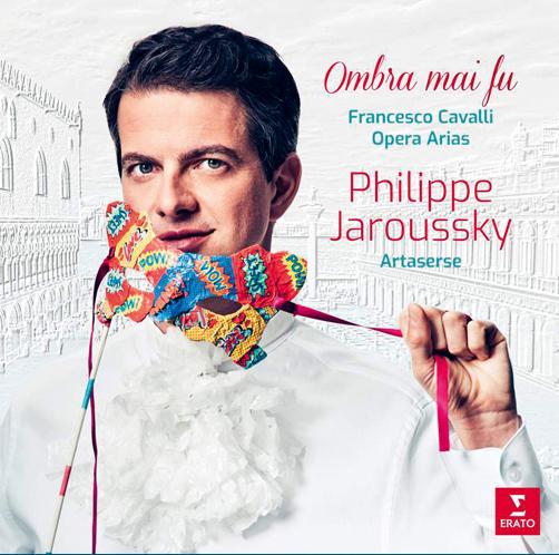 Ombra mai fu <br>Francesco Cavalli opera arias Philippe Jaroussky, <br>Artaserse Erato <br>CD