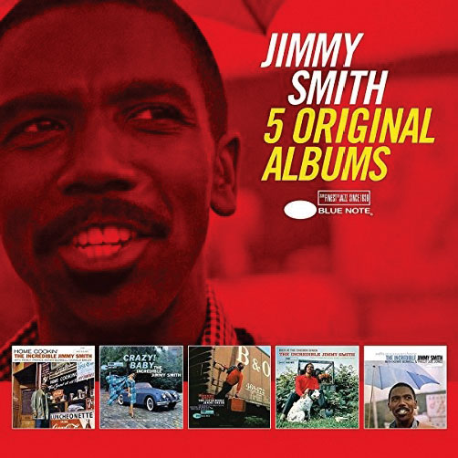 Jimmy Smith <br>5 Original Albums <br>Blue Note/Universal Music Jazz