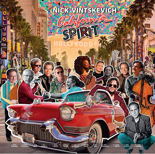 Nick Vintskevich <br>California Spirit <br>Floating World Records <br>LP