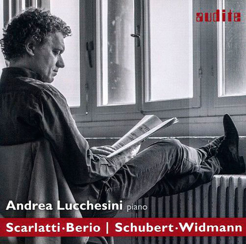 Dialogues. Scarlatti & Berio / <br>Schubert & Widmann <br>Andrea Lucchesini <br>Audite CD