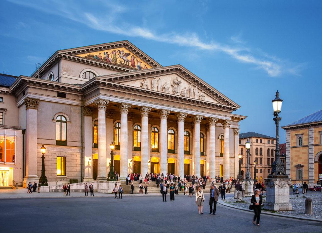 Шахматная доска оперной Европы