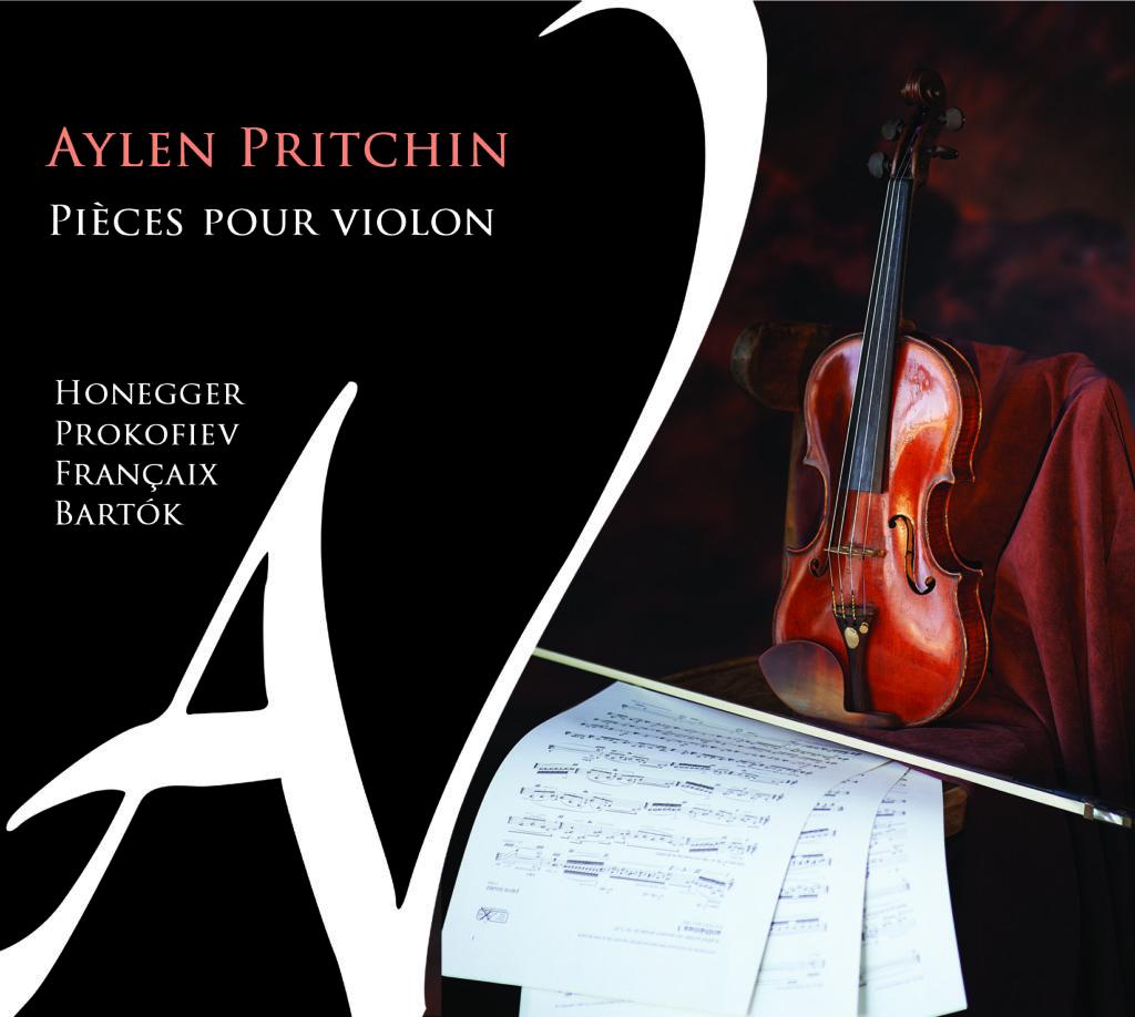 Aylen Pritchin <br>Piêces pour violon <br>Ad Vitam Records