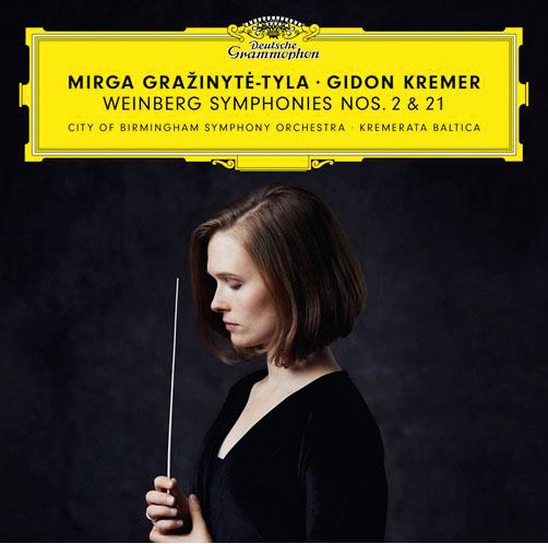Weinberg: Symphonies №2 & 21 <br>Gidon Kremer (violin), Kremerata Baltica, City of Birmingham Symphony Orchestra, Mirga Gražinytė-Tyla <br>DG
