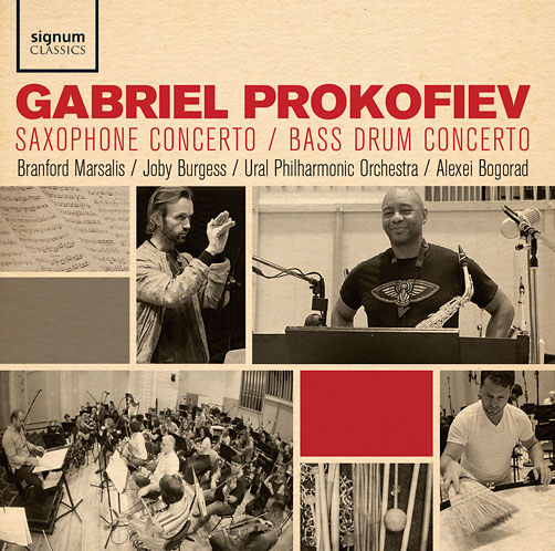 Gabriel Prokofiev <br>Signum Classics<br>CD