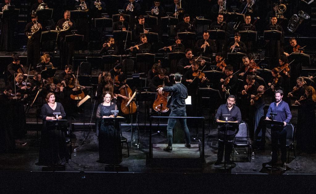 MusicAeterna и Теодор Курентзис дебютировали в Северной Америке
