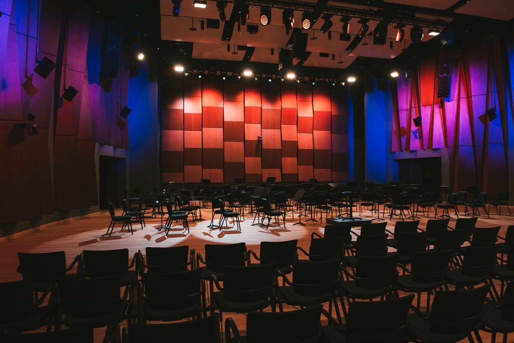 Новый зал Московского международного Дома музыки встречает своих первых гостей