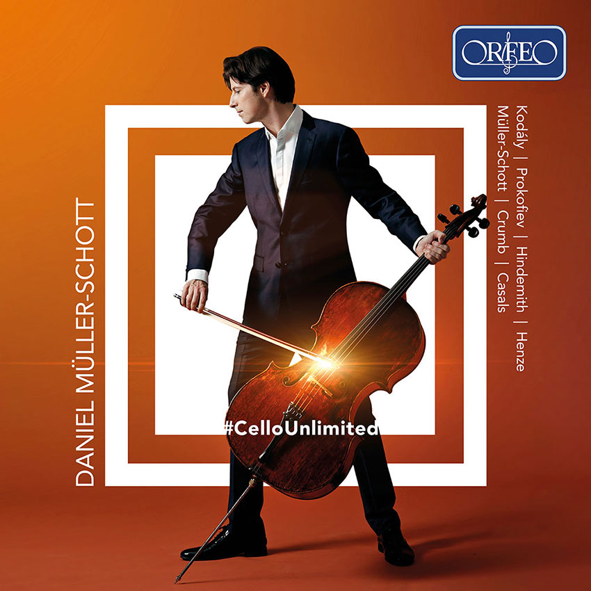 Daniel Müller-Schott <br>#CelloUnlimited <br>Kodaly. Prokofiev. Hindemith <br>Henze. Crumb. Casals <br>Orfeo