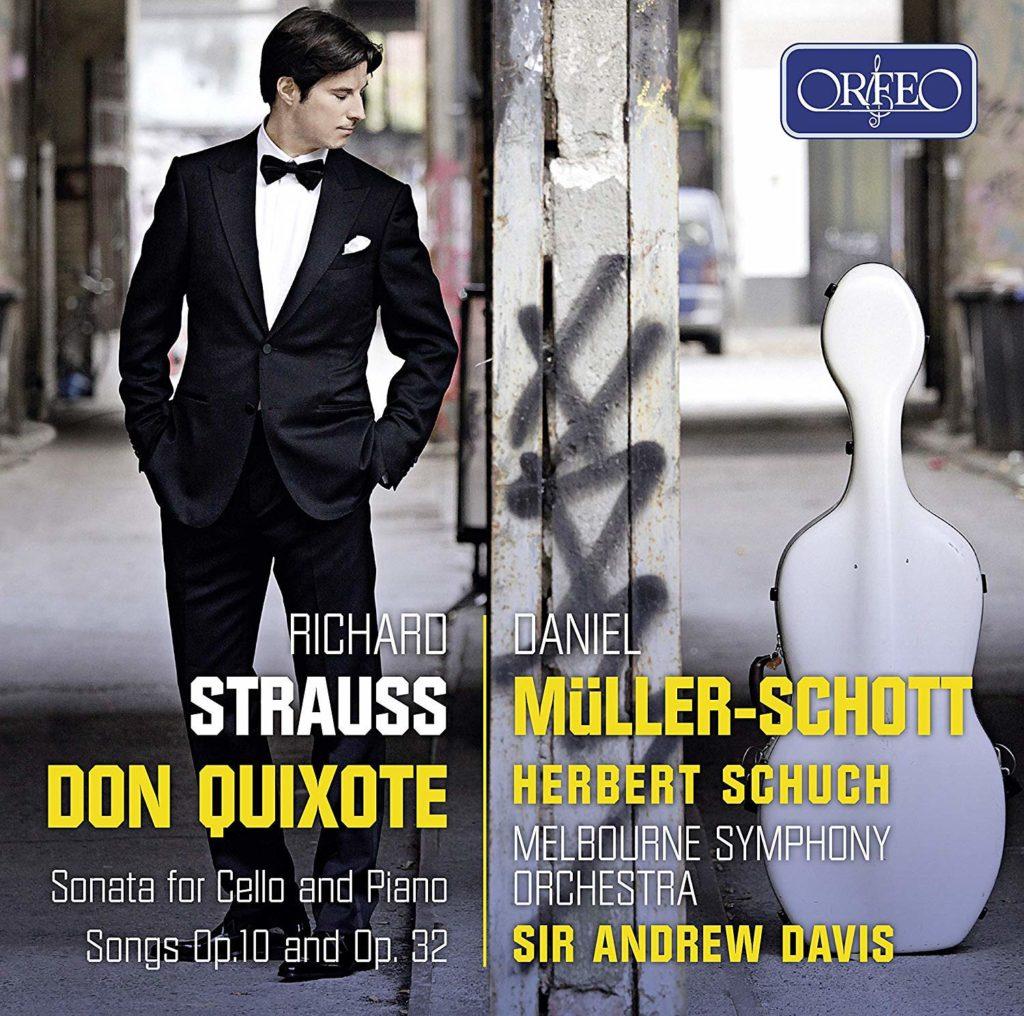 Daniel Müller-Schott <br>Richard Strauss. Don Quixote <br>Herbert Schuсh. Melbourne Symphony Orchestra <br>Sir Andrew Davis <br>Orfeo. Naxos
