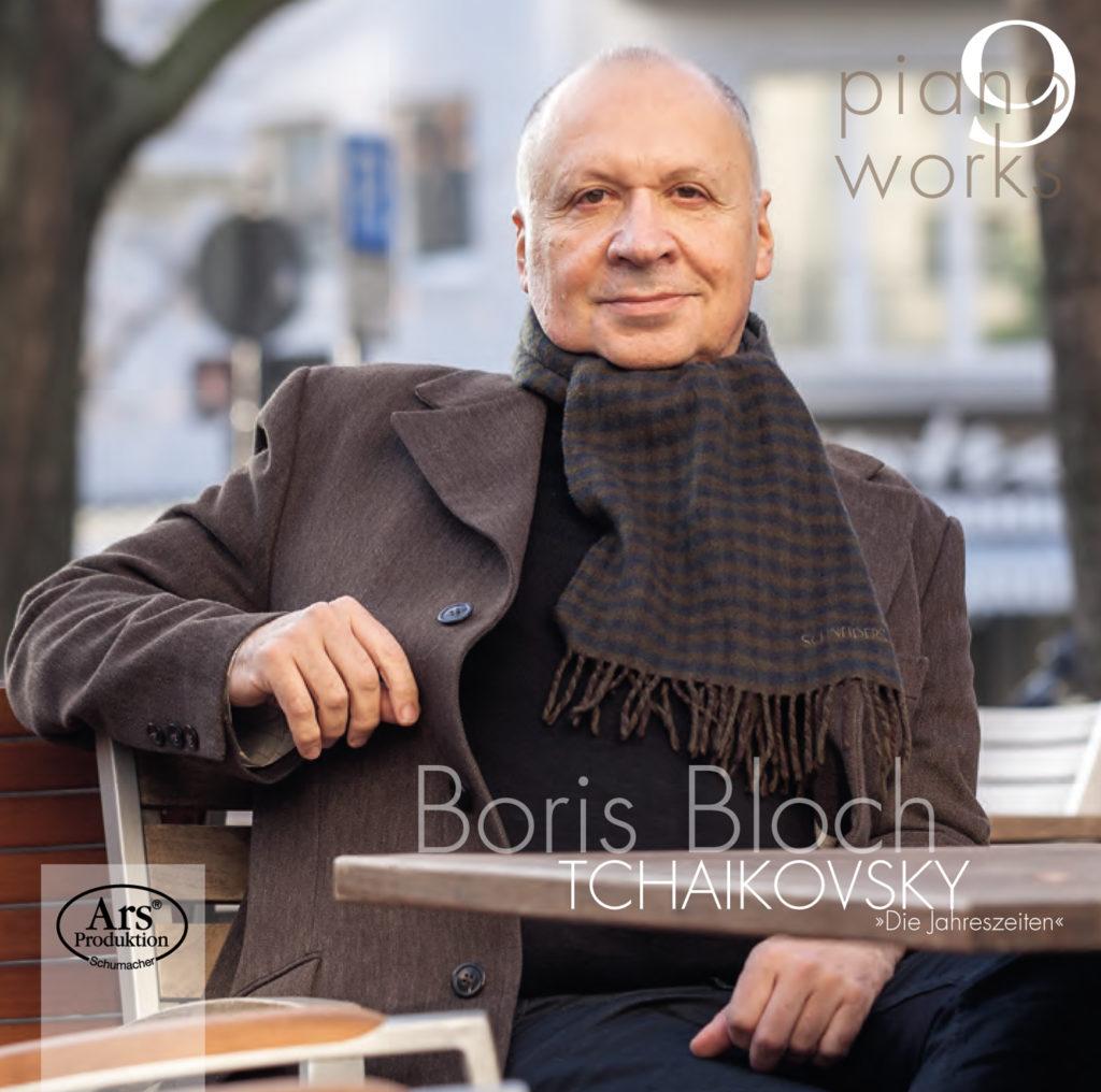 Boris Bloch <br>Tchaikovsky. Die Jahreszeiten <br>Ars Production Schumacher