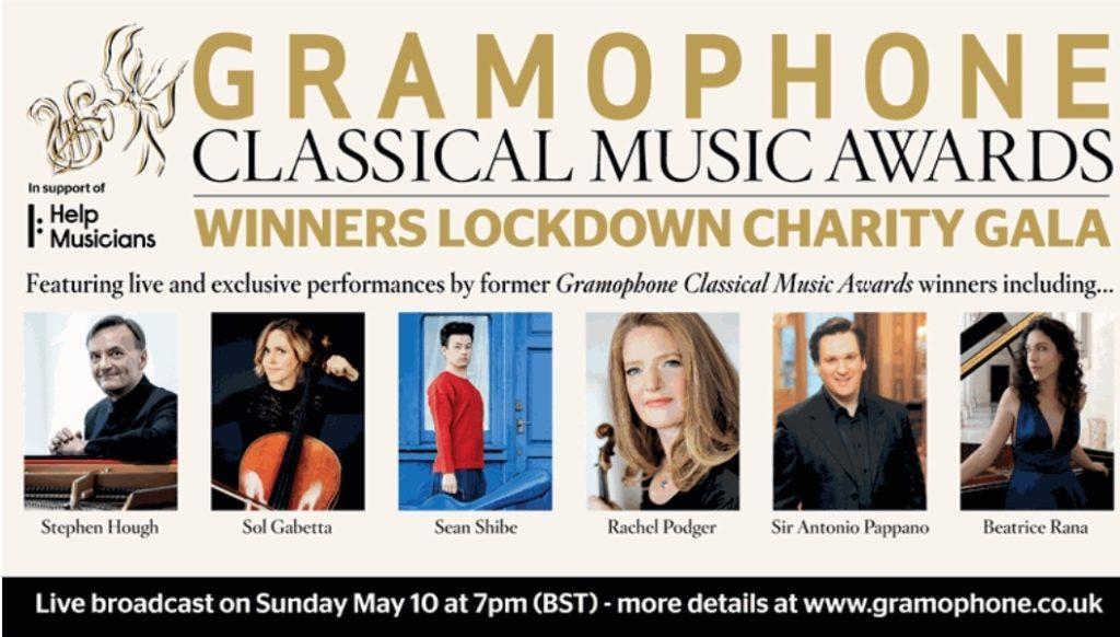 Gramophone проведет благотворительный гала-концерт онлайн