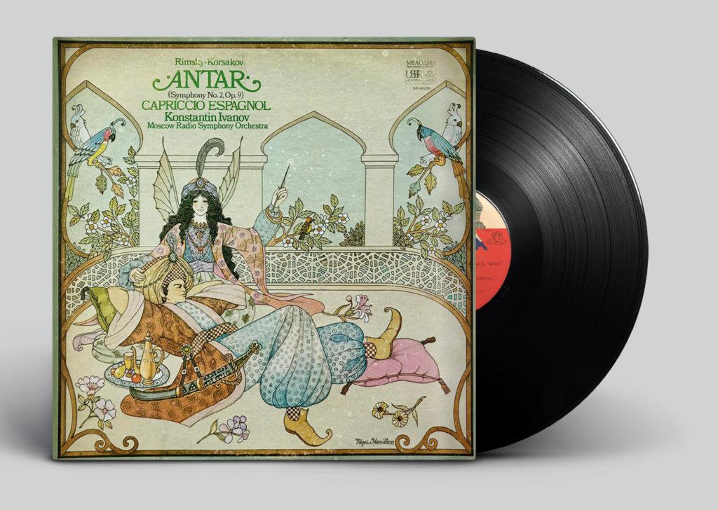 Rimsky-Korsakov <br>Antar (Symphony No. 2, op. 9) <br>Capriccio Espagnol