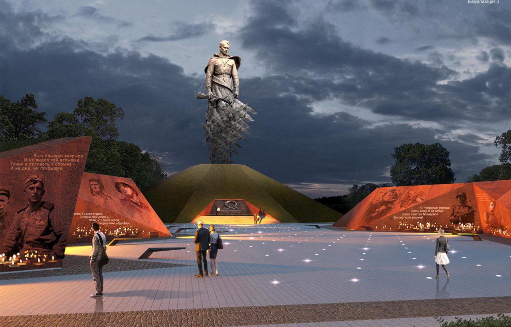 Под Ржевом открывают мемориальный комплекс на месте сражений в годы ВОВ