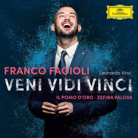 Veni, Vidi, Vinci <br>Franco Fagioli, Il Pomo d'Oro, Zefira Valova <br>Deutsche Grammophon