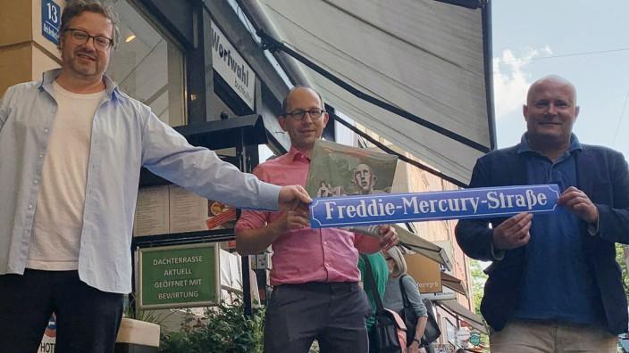 В Мюнхене появилась улица Фредди Меркьюри