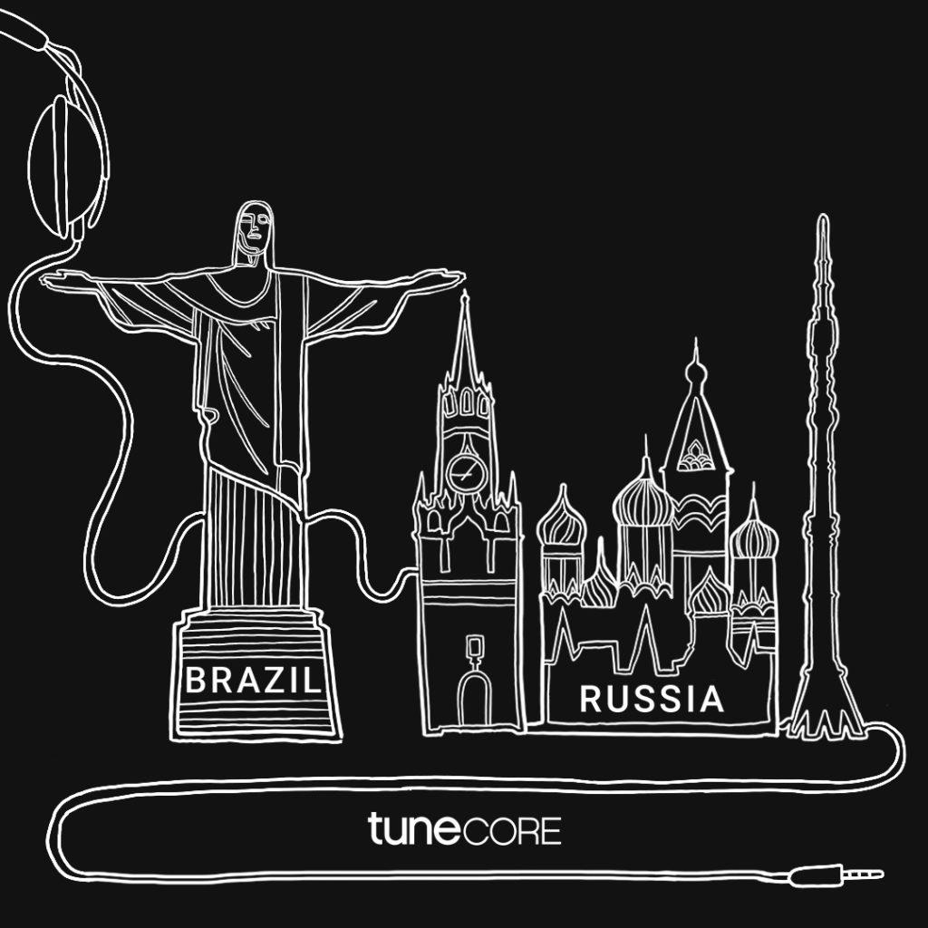 TuneCore приходит в Россию
