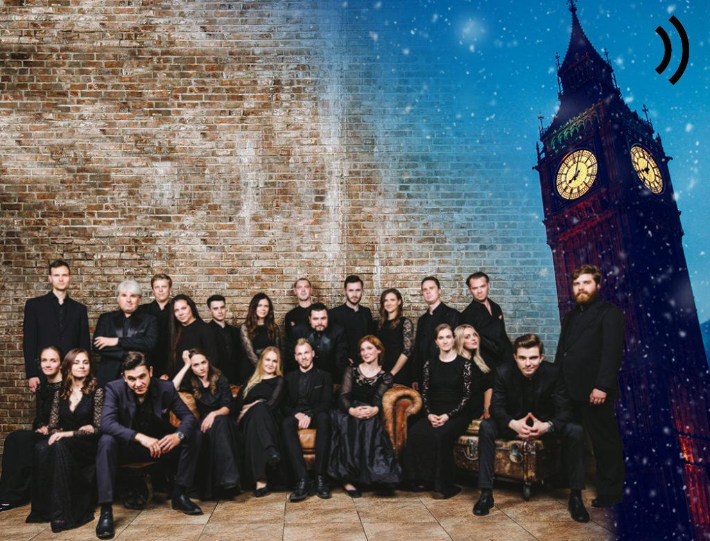 Вокальный ансамбль INTRADA завершает фестиваль в Великобритании