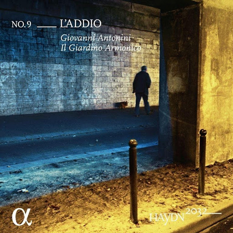 Haydn 2032 <br>No. 9– L'Addio <br>Giovanni Antonini. IlGiardinoArmonico <br>Sandrine Piau <br>Alpha