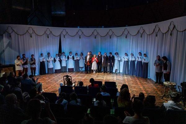 В Детском музыкальном театре показали спектакль-посвящение Императорскому дому