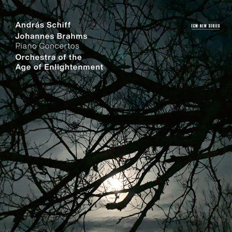 András Schiff   <br>Johannes Brahms: Piano Concertos <br>Orchestra of the Age of Enlightenment <br>ECM