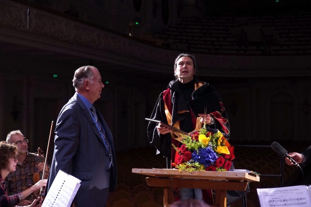 Владимир Юровский стал почетным профессором Московской консерватории
