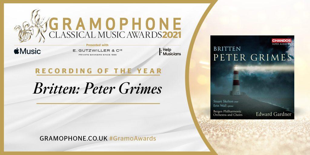 Gramophone назвал диск Эдварда Гарднера «Лучшей записью года»
