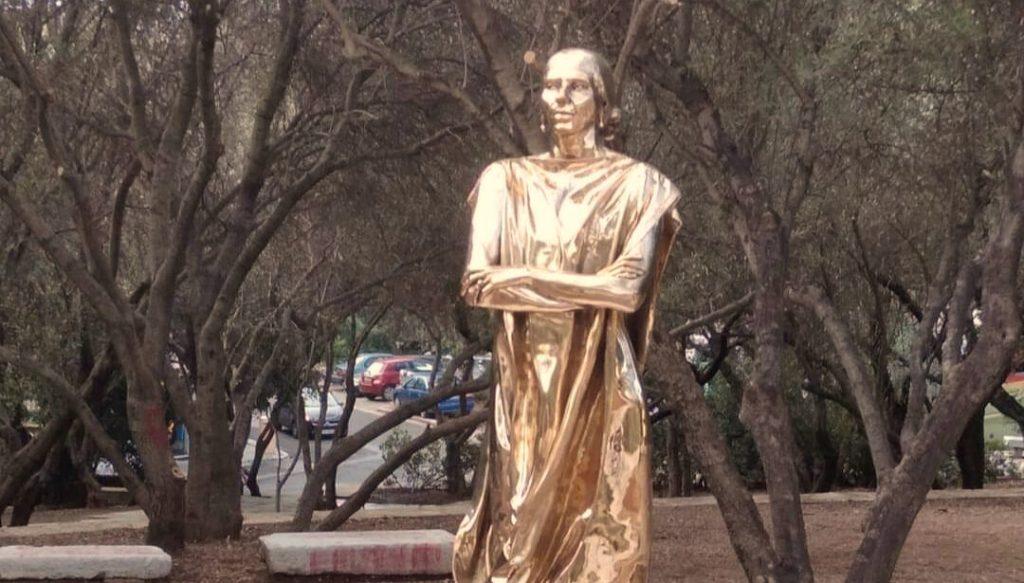 В Греции открыли памятник Марии Каллас